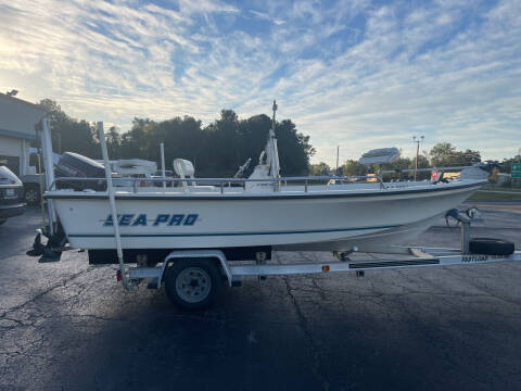 1999 Sea Pro V1900 for sale at ROWE'S QUALITY CARS INC in Bridgeton NC
