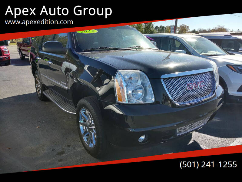 2013 GMC Yukon for sale at Apex Auto Group in Cabot AR
