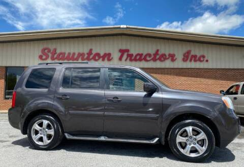 2012 Honda Pilot for sale at STAUNTON TRACTOR INC in Staunton VA