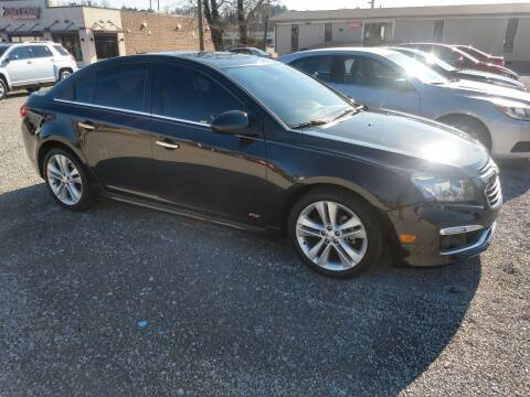 2015 Chevrolet Cruze for sale at Wholesale Auto Inc in Athens TN
