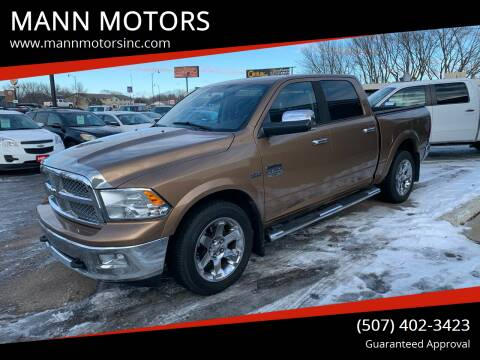 2012 RAM Ram Pickup 1500 for sale at MANN MOTORS in Albert Lea MN