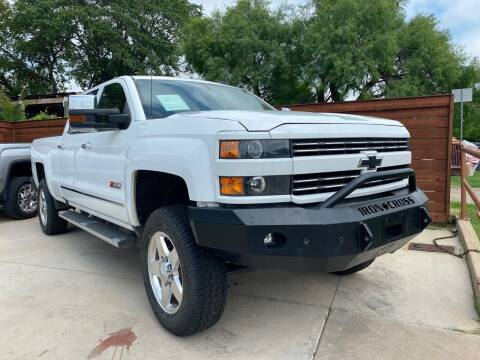 2015 Chevrolet Silverado 2500HD for sale at Speedway Motors TX in Fort Worth TX