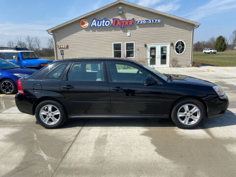 2005 Chevrolet Malibu Maxx for sale at The Auto Depot in Mount Morris MI