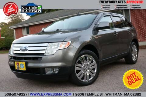 2010 Ford Edge for sale at Auto Sales Express in Whitman MA