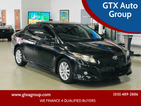 2010 Toyota Corolla for sale at GTX Auto Group in West Chester OH