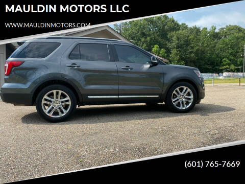 2016 Ford Explorer for sale at MAULDIN MOTORS LLC in Sumrall MS