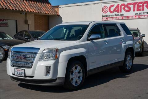 2013 GMC Terrain for sale at CARSTER in Huntington Beach CA