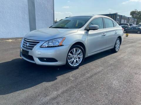 2014 Nissan Sentra for sale at Automotive Brokers Group in Dallas TX