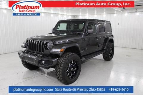 2021 Jeep Wrangler Unlimited for sale at Platinum Auto Group Inc. in Minster OH