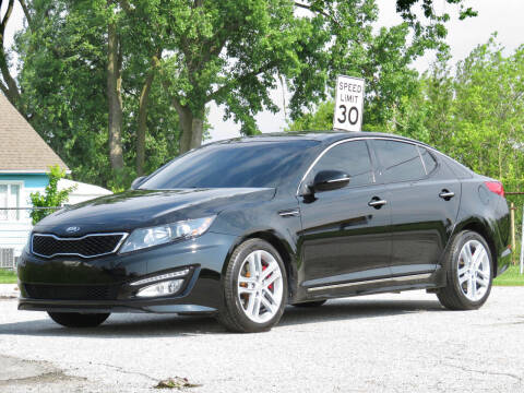 2013 Kia Optima for sale at Tonys Pre Owned Auto Sales in Kokomo IN