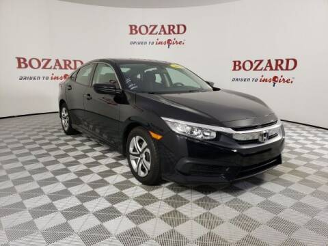 2018 Honda Civic for sale at BOZARD FORD in Saint Augustine FL