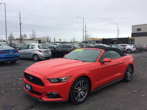 2017 Ford Mustang for sale at Delta Car Connection LLC in Anchorage AK