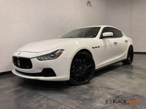 2015 Maserati Ghibli for sale at BLACK LABEL AUTO FIRM in Riverside CA