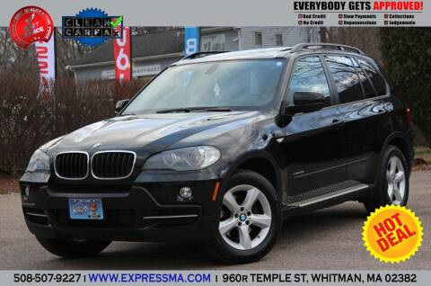 2009 BMW X5 for sale at Auto Sales Express in Whitman MA
