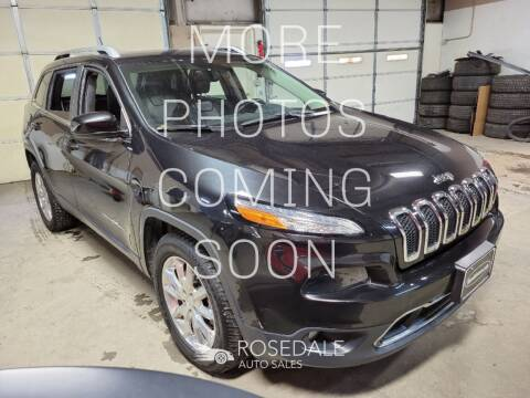 2014 Jeep Cherokee for sale at Rosedale Auto Sales Incorporated in Kansas City KS