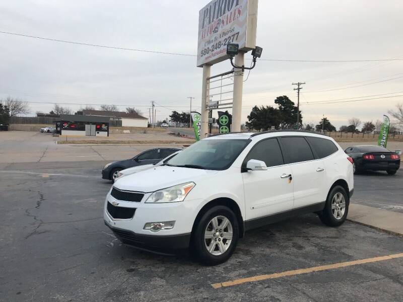2010 Chevrolet Traverse for sale at Patriot Auto Sales in Lawton OK