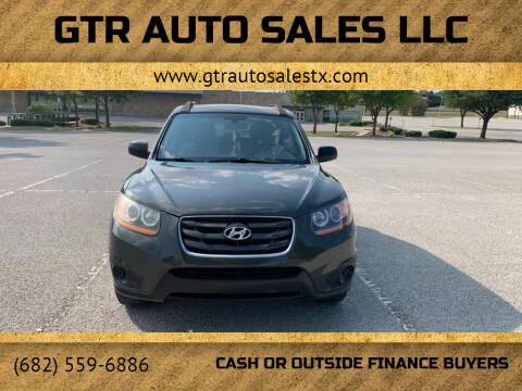 2010 Hyundai Santa Fe for sale at GTR Auto Sales LLC in Haltom City TX