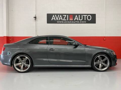 2013 Audi RS 5 for sale at AVAZI AUTO GROUP LLC in Gaithersburg MD