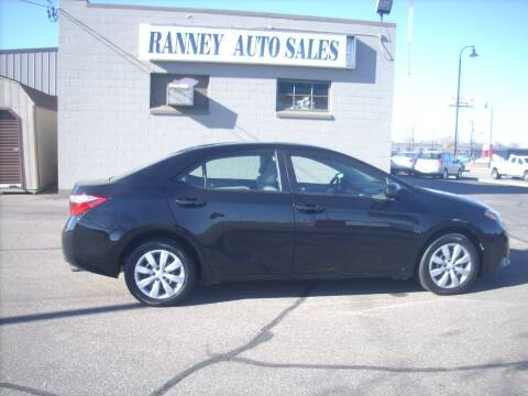 2016 Toyota Corolla for sale at Ranney's Auto Sales in Eau Claire WI