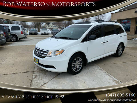 2012 Honda Odyssey for sale at Bob Waterson Motorsports in South Elgin IL