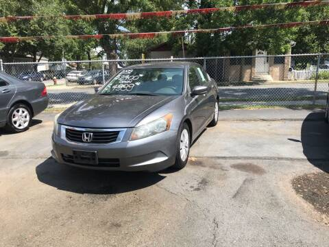 2009 Honda Accord for sale at Chambers Auto Sales LLC in Trenton NJ