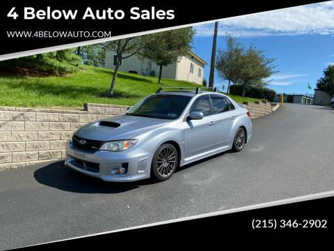 2012 Subaru Impreza for sale at 4 Below Auto Sales in Willow Grove PA