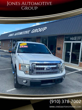 2013 Ford F-150 for sale at Jones Automotive Group in Jacksonville NC