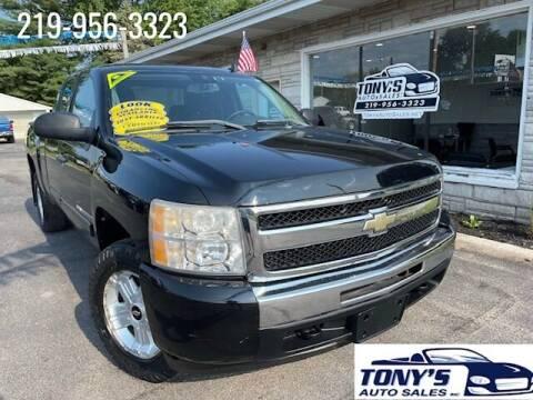 2009 Chevrolet Silverado 1500 for sale at Tonys Auto Sales Inc in Wheatfield IN