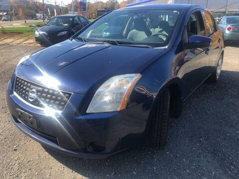 2008 Nissan Sentra for sale at AUTO OUTLET in Taunton MA