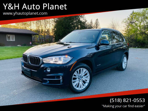 2016 BMW X5 for sale at Y&H Auto Planet in West Sand Lake NY