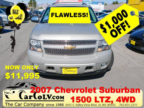 2007 Chevrolet Suburban for sale at The Car Company in Las Vegas NV
