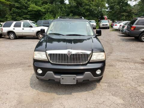 2005 Lincoln Aviator for sale at 1st Priority Autos in Middleborough MA