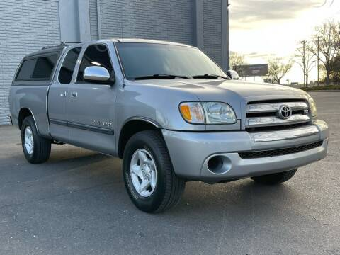 2003 Toyota Tundra for sale at COUNTY AUTO SALES in Rocklin CA