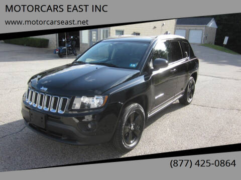 2016 Jeep Compass for sale at MOTORCARS EAST INC in Derry NH