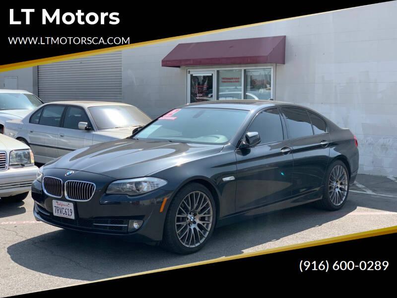 2012 BMW 5 Series for sale at LT Motors in Rancho Cordova CA