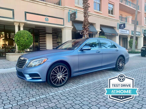 2014 Mercedes-Benz S-Class for sale at AUTOSPORT MOTORS in Lake Park FL