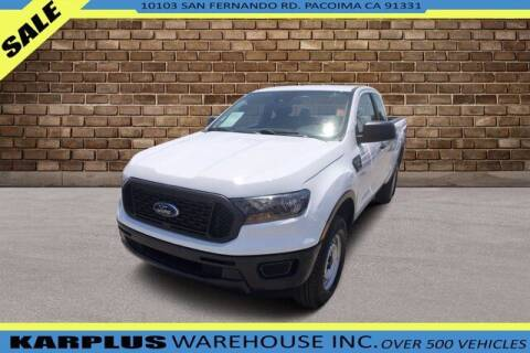2019 Ford Ranger for sale at Karplus Warehouse in Pacoima CA