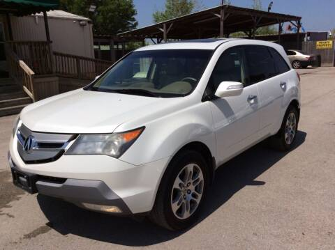 2008 Acura MDX for sale at OASIS PARK & SELL in Spring TX