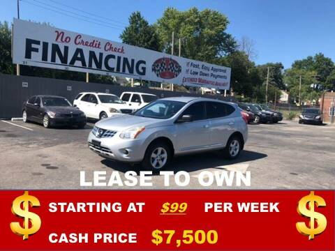 2012 Nissan Rogue for sale at Auto Mart USA in Kansas City MO