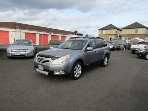 2010 Subaru Outback for sale at ARISTA CAR COMPANY LLC in Portland OR