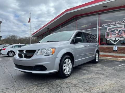 2017 Dodge Grand Caravan for sale at USA Motor Sport inc in Marlborough MA