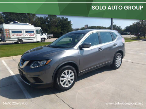 2016 Nissan Rogue for sale at Solo Auto Group in Mckinney TX