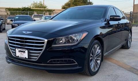 2015 Hyundai Genesis for sale at DYNAMIC AUTO GROUP in Houston TX