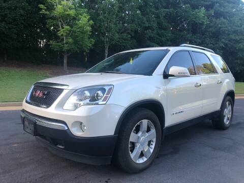 2007 GMC Acadia for sale at Top Notch Luxury Motors in Decatur GA
