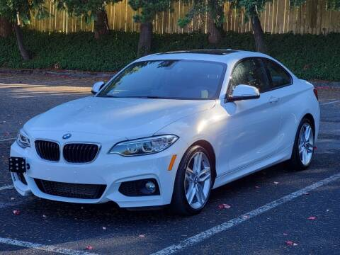2017 BMW 2 Series for sale at SEATTLE FINEST MOTORS in Lynnwood WA