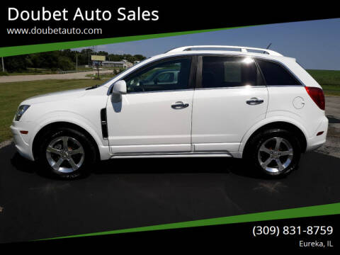 2014 Chevrolet Captiva Sport for sale at Doubet Auto Sales in Eureka IL