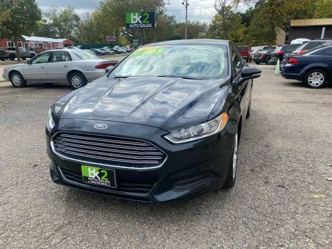 2014 Ford Fusion for sale at BK2 Auto Sales in Beloit WI