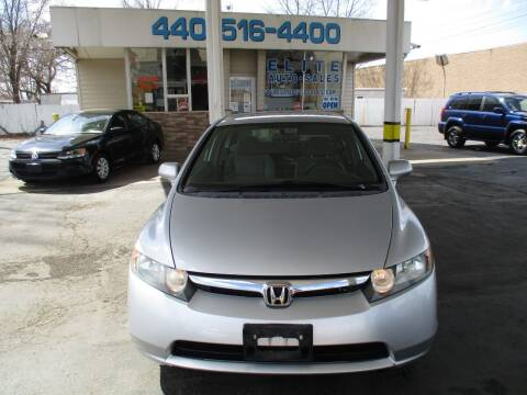 2008 Honda Civic for sale at Elite Auto Sales in Willowick OH