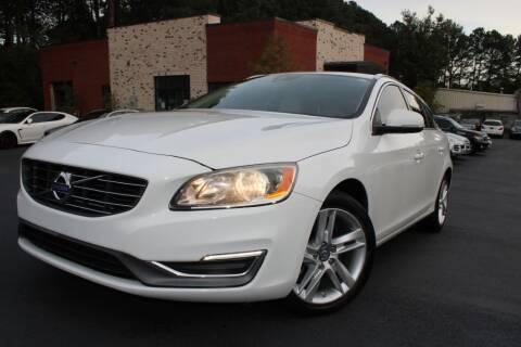 2015 Volvo V60 for sale at Atlanta Unique Auto Sales in Norcross GA