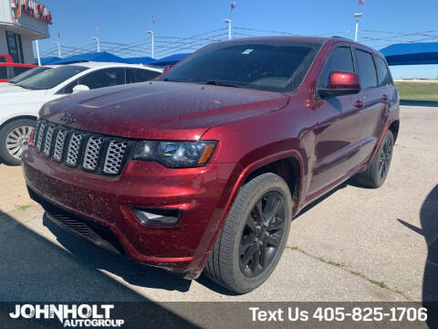 2019 Jeep Grand Cherokee for sale at JOHN HOLT AUTO GROUP, INC. in Chickasha OK